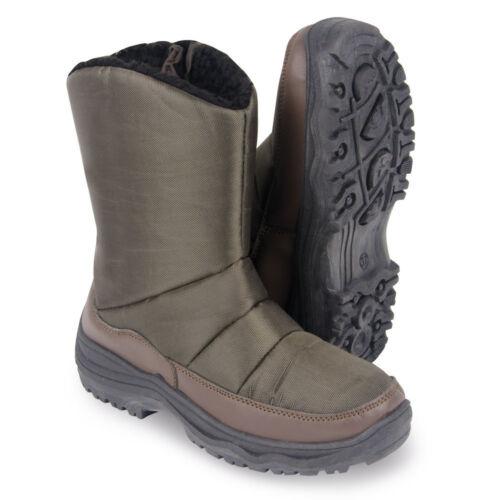 Clifford James Womens Warm Lightweight Pull On Fleece Lined Winter Snow Boots