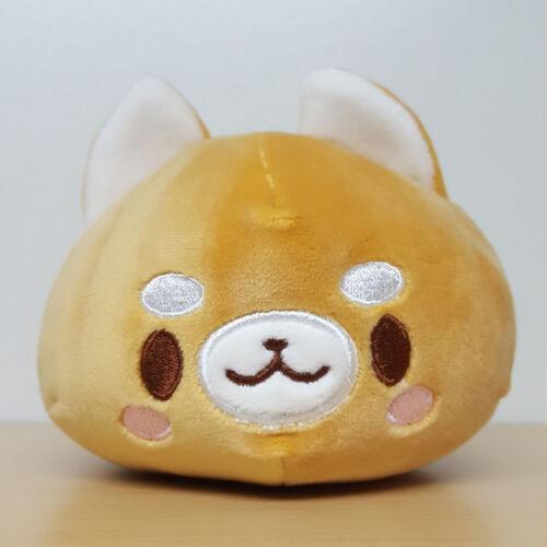 6 Types Soft Round Dog Plush Mochifuwa Maru Wan