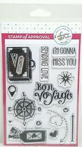 Stamp-Of-Approval-Crafting-Bon-Voyage-Stamp-Set-Catherine-Pooler-NEW
