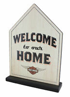 Hallmark Harley Davidson welcome To Our Home Standing Sign