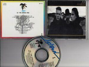 U2 The Joshue Tree 1987 CD CIDU2-6 RARE FIRST PRESSING NO BARCODE