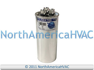 60//5 uf MFD 370//440 Volt VAC fits Corsaire # 43-26261-20 ClimaTek Round Capacitor