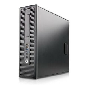 HP EliteDesk 800 G1 SFF PC Desktop (Intel Core i5 4570, 1TB HDD, 8GB, Windows 10