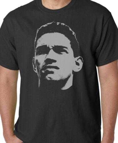 GARRINCHA légende du football pour Homme T shirt Brésil Haut Décontracté Cadeau T37