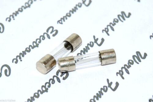 250 V 5x20mm Quick Acting verre fusible 0.35 A 10pcs-Wickmann 350 mA