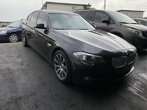2011 BMW 550i XDrive (AWD) Fully Loaded With M Rims