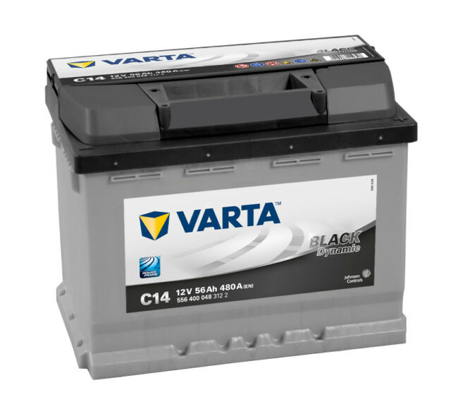 VARTA BLACK dynamic 556 400 048 3122 C14 12Volt 56Ah Starterbatterie