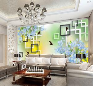 3D Blossom Bird 687 Wallpaper Murals Wall Print Wallpaper Mural AJ WALL UK Kyra