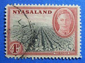 1945 NYASALAND 4d SCOTT# 73 S.G.# 149 USED CS20961