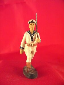 Soldat Mit Gewehr Hell Elastolin Figur 7cm Reichsmarine Sommeruniform Verpackung Der Nominierten Marke