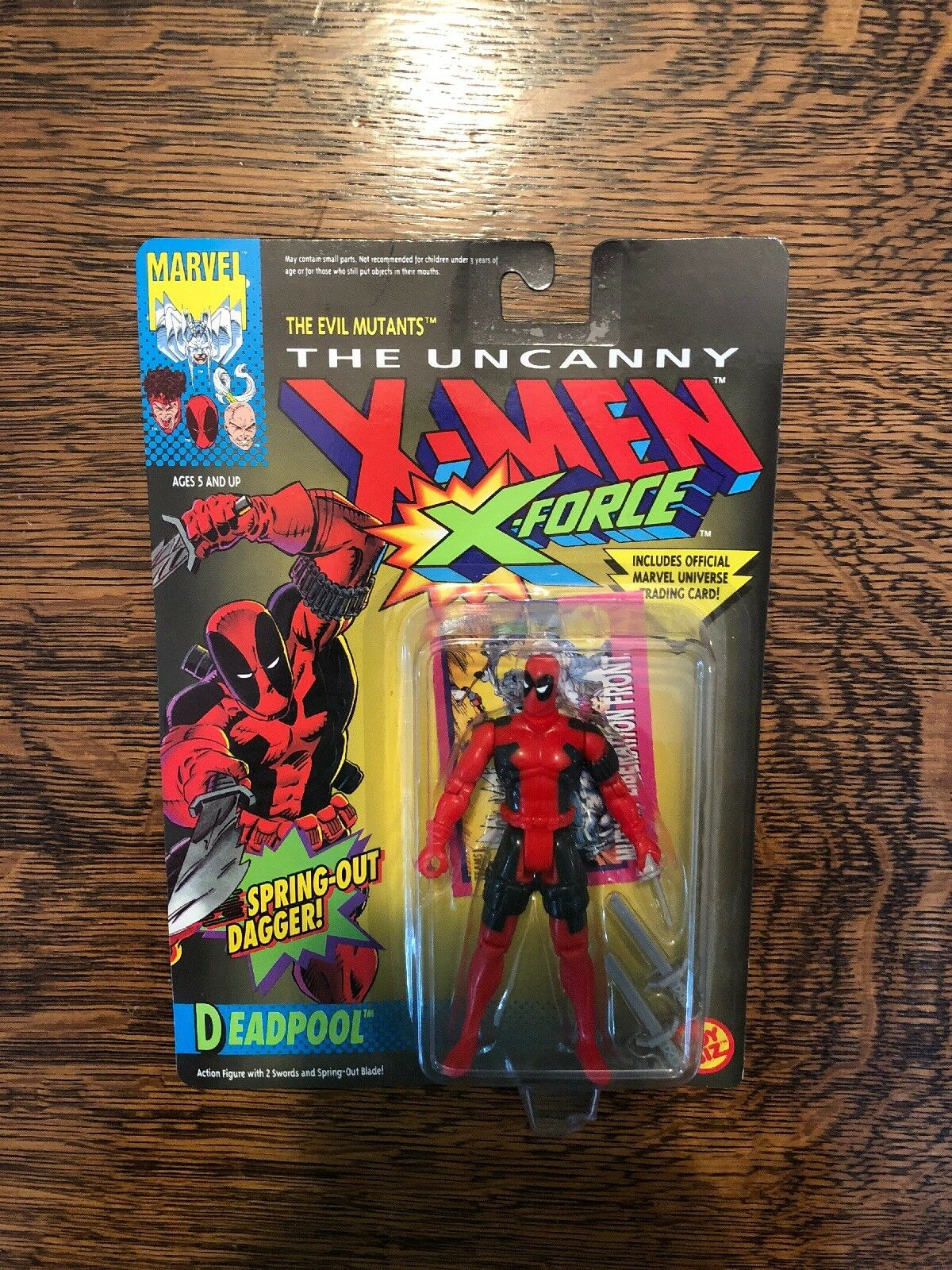Marvel die unheimlichen x - men - x - force fr deadpool action - figur, toybiz 1992 neue