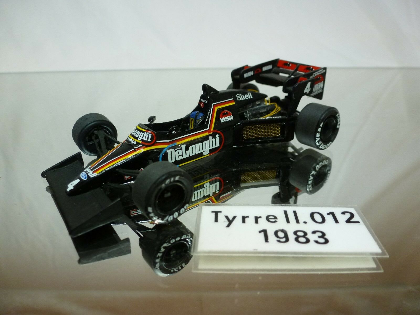 MERIKITS - TYRRELL 012 1983  - VERY RARE -  KIT (built)  F1 1 43 - NICE CONDITION  promotions d'équipe