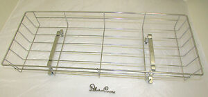 SILVER-CROSS-DOLLS-COACH-BUILT-PRAM-TOY-CHROME-SHOPPING-TRAY-spares-CHATSWORTH