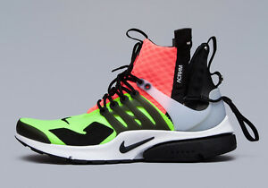 NIKE - AIR PRESTO MID x ACRONYM (Large – US 11-12)  844672-100  4b96242437