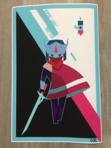 Hyper Light Drifter poster print
