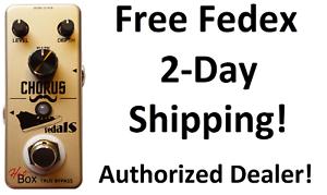 New Hot Box Pedals Chorus Attitude Series Guitar Effects Pedal