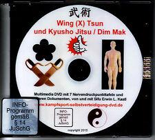 Wing Chun Tsun y Kyusho Jitsu nervios presión punto k. o. golpes Dim Mak DVD