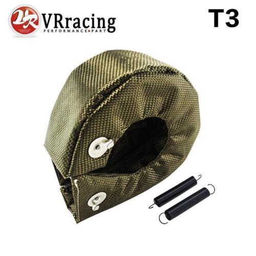 gt35 Full TITANIUM turbo heat shield T3 turbo blanket fit t2 t25,t28,gt28,gt3