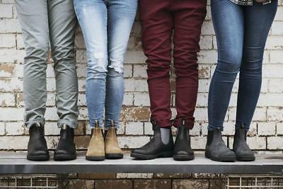 eb126bad7 Blundstone Suede Chelsea Boot Women's Sizing (Water/Slip Resistant, 6  Colors)   eBay
