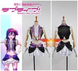 Details about Love Live 2 Sonoda Umi Dancing Stars on Me Halloween Cosplay  Costume Any Size