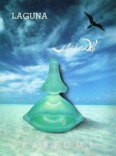 Publicité advertising 1992 Parfum Laguna Salvador Dali