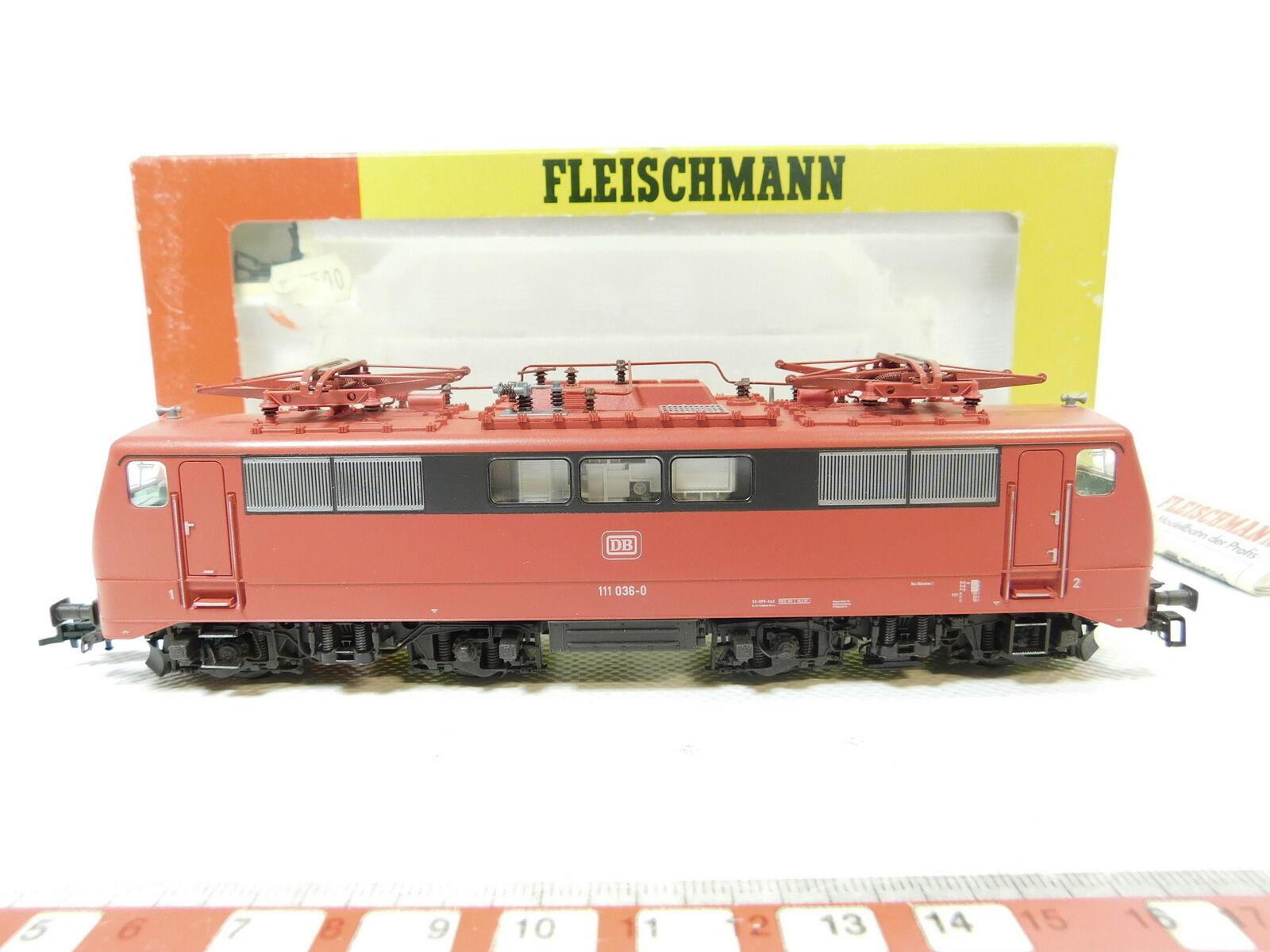 Bg188-1Fleischmann H0 DC 4347 Electric Locomotive E-LOCOMOTIVE 111 036-0 DB