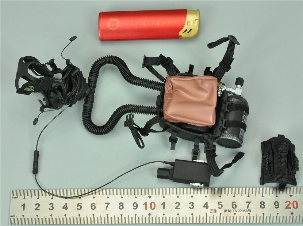 Rebreather System & Transceiver for DAM 78055 1 1 1 6 Scale Figure 12'' 981ab3