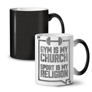 Gym Church Sport Sport NEW Colour Changing Tea Coffee Mug 11 oz | Wellcoda