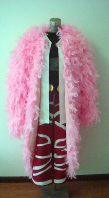 173304ae8a3 Anime One Piece Doflamingo Cosplay Coat Outfits for sale online | eBay
