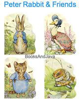 Peter Rabbit,jemima Puddle-duck,tom Kitten,mr Jeremy Fisher 4 Lg Board Books