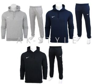Nike-Mens-Full-Tracksuit-Fleece-Hooded-Jogging-Bottms-Joggers-S-M-L-XL