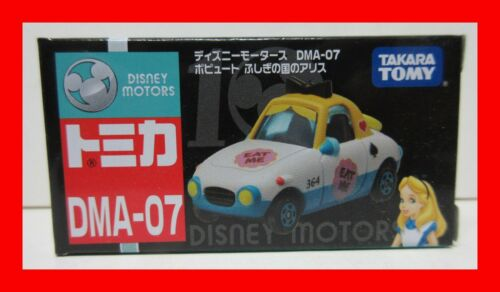 DEC 2018 DISNEY MOTORS DMA-07 Alice in Wonderland TAKARA TOMICA TOMY 10 anniv