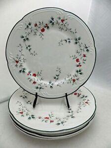 Pfaltzgraff Winterberry pattern - set/lot of 4 Dinner plates - USA - EUC