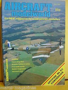 MODEL-AIRCRAFT-MAG-AIRCRAFT-MODELWORLD-MAY-1984-ANSALDO-BREWSTER-BUFFALO-SPIT