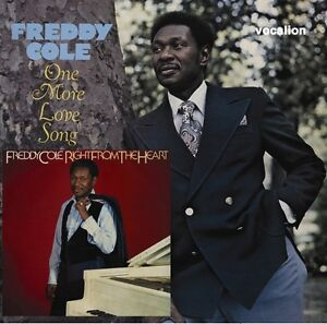 Freddy Cole - One More Love Song & Right from the Heart - 1978/1980 CD reissue