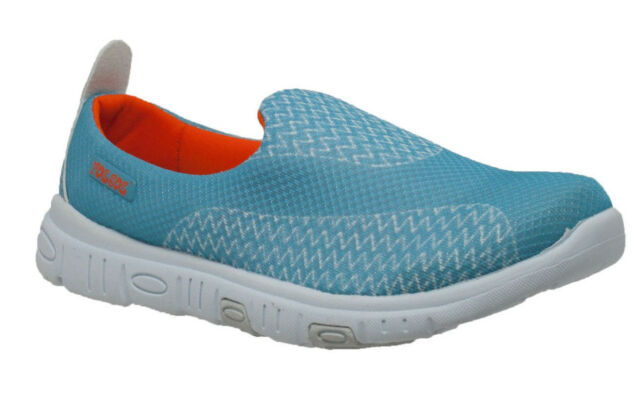 6e0e786c05ca RocSoc Womens Blue orange Comfort Stride Slip on Mesh 9 M for sale ...