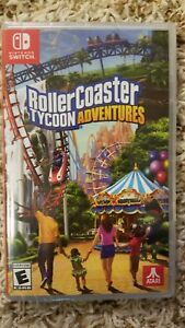 Details about Rollercoaster Tycoon Adventures (Nintendo Switch) Brand New  and Sealed!