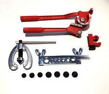 Tubería de combustible de Freno Conjunto de Herramientas de Reparación Kit para ensanchar Métrico Af Mini Cortador De Tubo Bender +