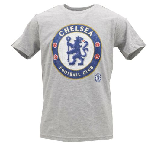 Chelsea Football Club Soccer Official Apparel Kids Youth Size T-Shirt Distressed
