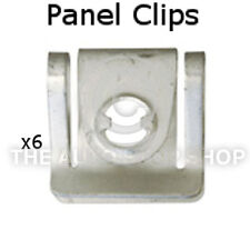 Panel Clips Cowling Volkswagen Transporter/Caravelle etc Part 11074vw Pack of 6