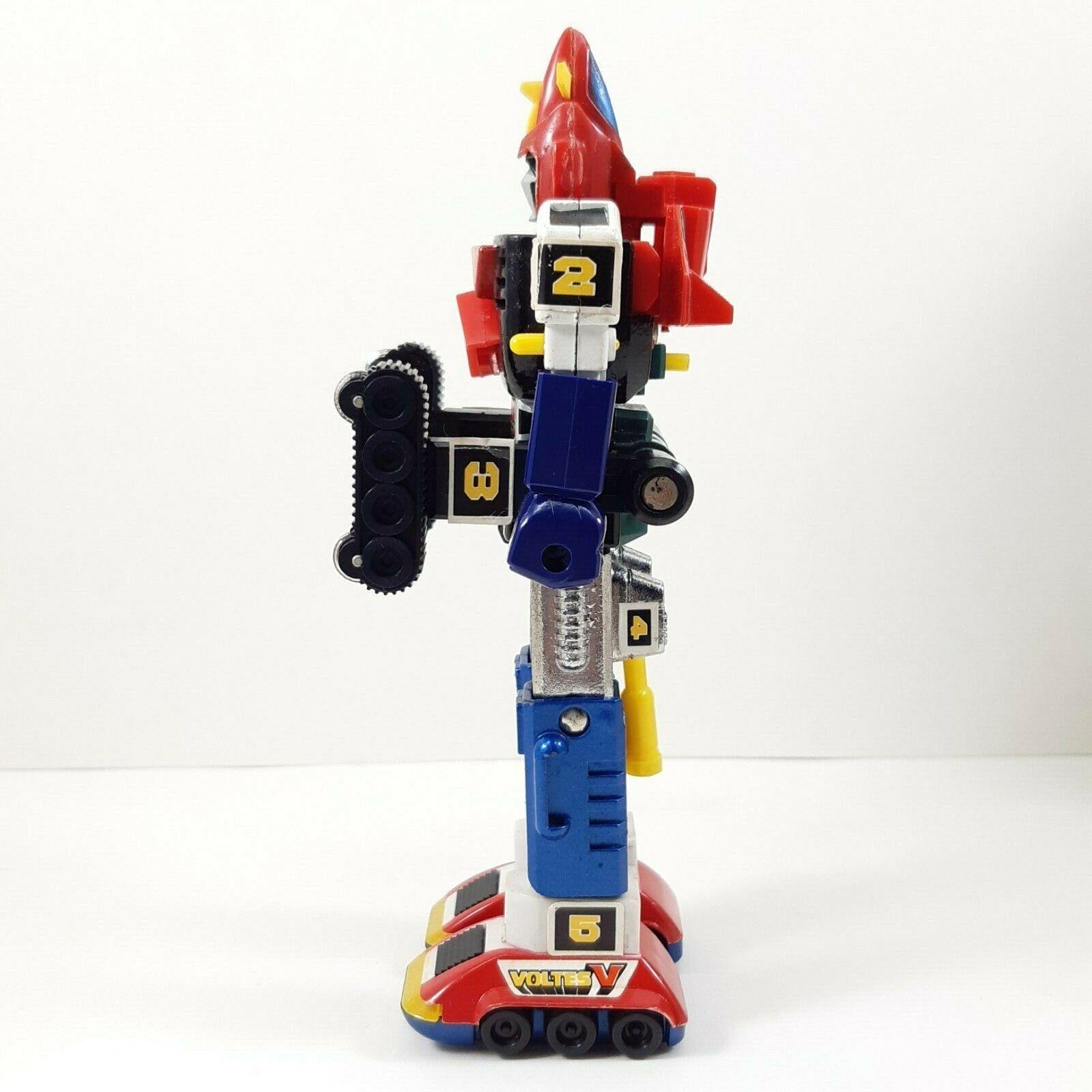 Rare Chogokin Chogokin Chogokin Voltes V GA-80 cifra Robot Vintage Retro Die-cast Japan POPY 35a903