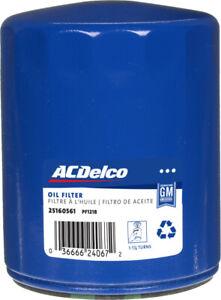 ACDELCO PF1218 GM 25160561 OIL FILTER for CHEVROLET EXPRESS GMC SAVANA 1996-02