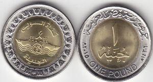 coins EGYPT 1 POUND 2015 NEW SUEZ CANAL PROJECT  UNC *//*