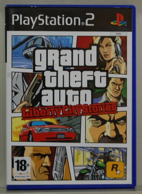 GRAND THEFT AUTO LIBERTY CITY STORIES - PLAYSTATION 2 -PAL ESPAÑA- COMPLETO - N2