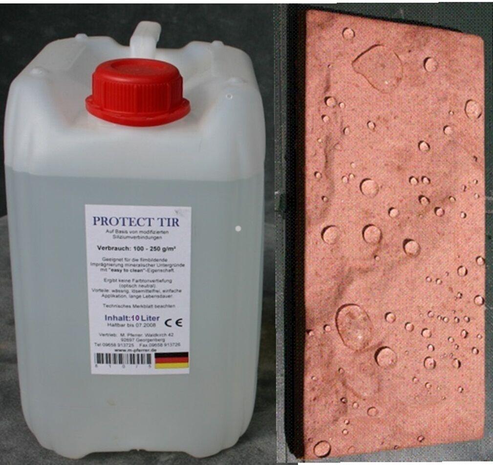 (12,50 EUR l) 10 L Imprägnierung TIR für Beton, Estrich, Pflaster, Klinkerstein