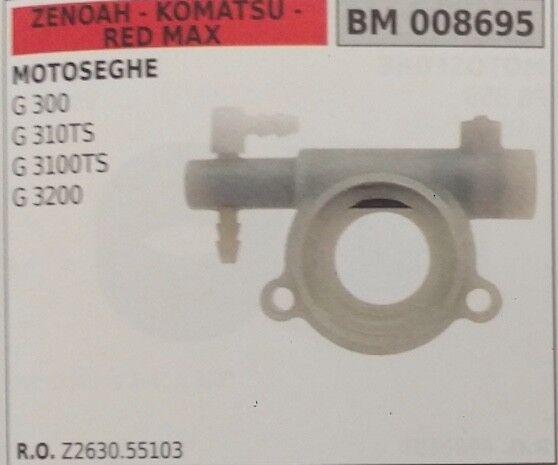 Z263055103 Bomba de Aceite Completo Motosierra Zenoah Komatsu Rojo Max G 3100TS