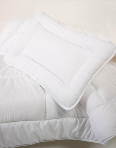 Anti Allergy Cot Bed Duvet Pillow  Soft Quilt Baby Toddler Bedding Set 120x150cm