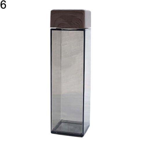 Kitchen Leakproof Transparent Milk Water Bottle Outdoor Drinkware Unbreakable