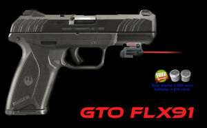 Details about ArmaLaser GTO for Ruger® Security-9 - RED Laser w/ FLX91 Grip  Touch Activation