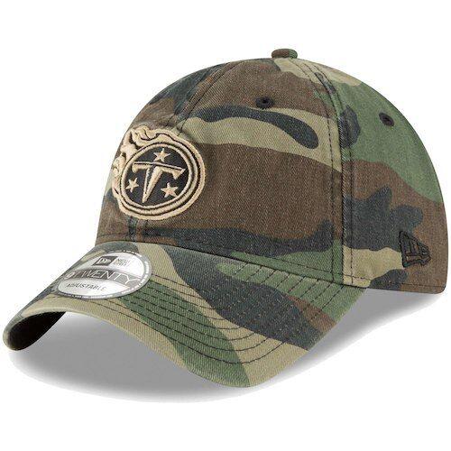 best service 617be d37cc New Era Tennessee Titans Woodland Camo Core Classic 9TWENTY Adjustable Hat